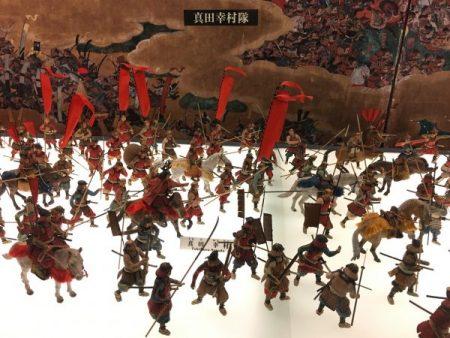 Scaled figurines of Summer War of Osaka